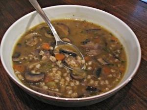 овощной суп с перловкой рецепт калорийность